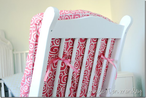 glider rocking chair cushion pattern percival lafer the monday blog: makeover {tutorial}