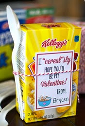 Cupcake Diaries - Cereal Box Valentine