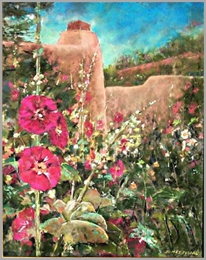 santa-fe-hollyhocks