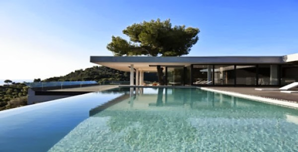 piscina-borde-infinito-plane-house-diseño-k-studio