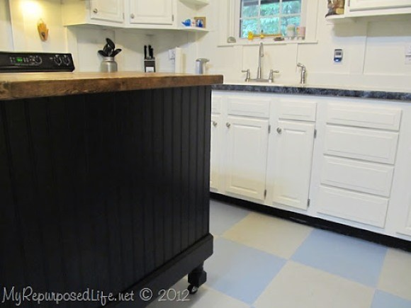 Kitchen Island Update