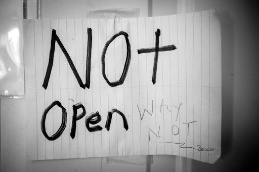 not open. why not? because