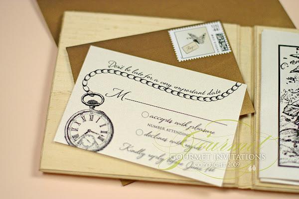 Beautiful ... Alice In Wonderland Wedding Invitations, Story Book Wedding Invitations,  Fairy Tale Theme Wedding, ...
