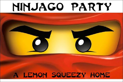 graphic about Ninjago Eyes Printable named Ninjago Celebration: Section 1