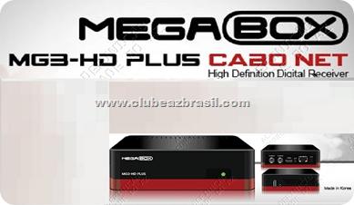 MEGABOX MG3 HD PLUZ CABO NET