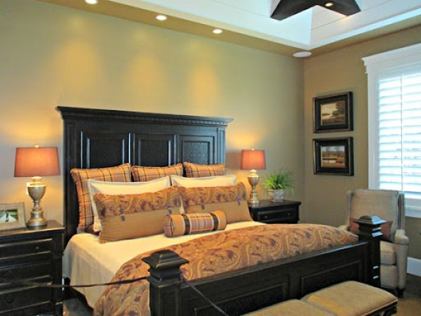 Cardboard by Sherwin Williams - master bedroom paint color