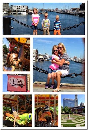boston harbor and greenway carousel