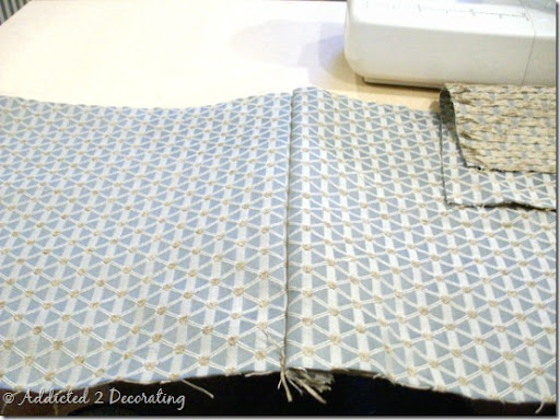 D I Y Tutorial For Making Unlined Pinch Pleated Drapery Panels