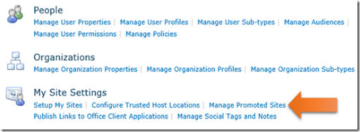 Managing promoted sites in Office 365 – CIAOPS