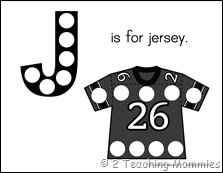 Jersey Magnet Page