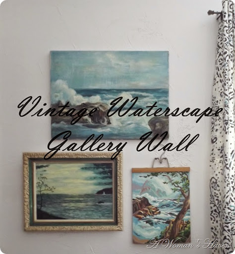 Vintage Waterscape Gallery Wall