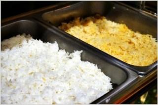 Buffet ramadhan terbaik - nasi beriani dan nasi putih