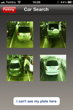Four photos of vehicles matching the search results
