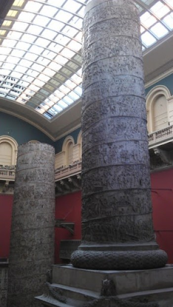 At the V and A