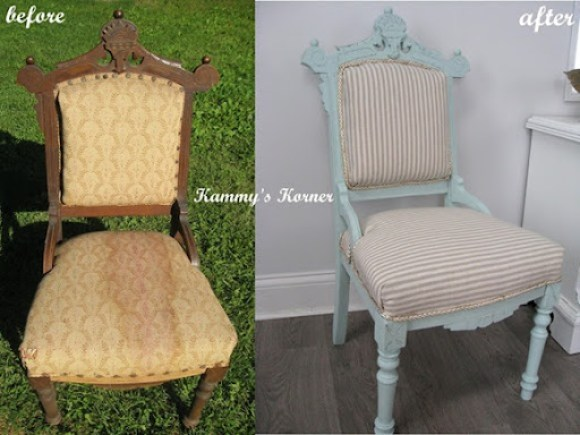antique chair redo