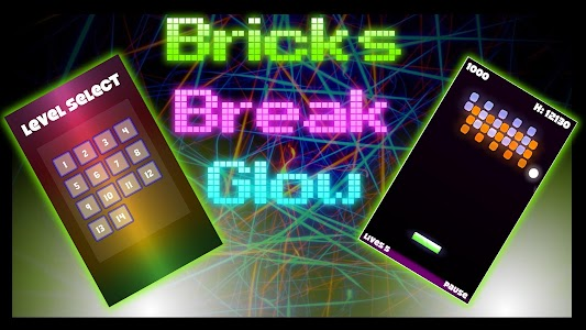 Bricks Break Glow screenshot 5