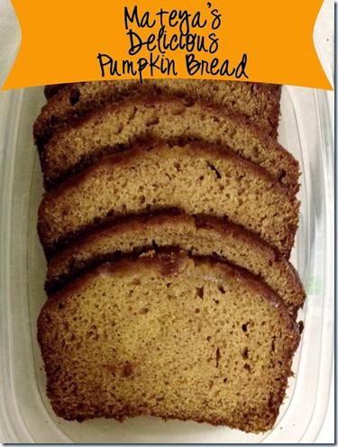 pumpkin breadblog