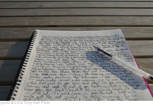 'Writing' photo (c) 2008, Tony Hall - license: http://creativecommons.org/licenses/by-nd/2.0/