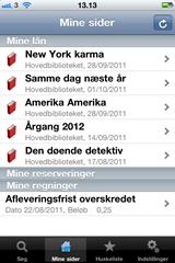 Guldborgsund-bibliotekerne på iPhone