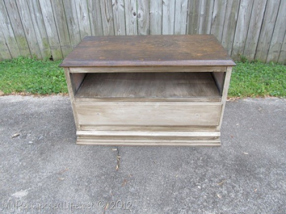 Chest of Drawers into Entertainment Center (58)
