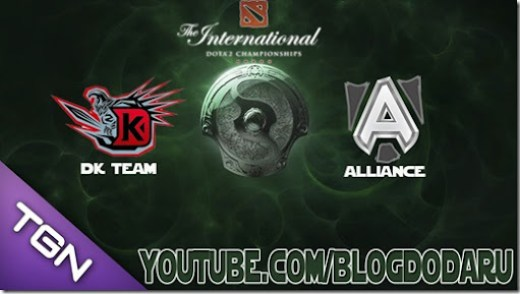 Dota 2: Alliance x DK - The International Championships 2013 - TI3 - 3 Round