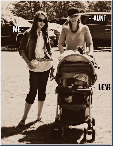 aunt, me, levi