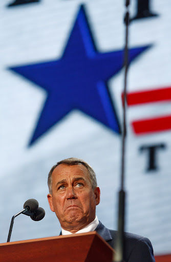 House Speaker John Boehner, Republican National Convention