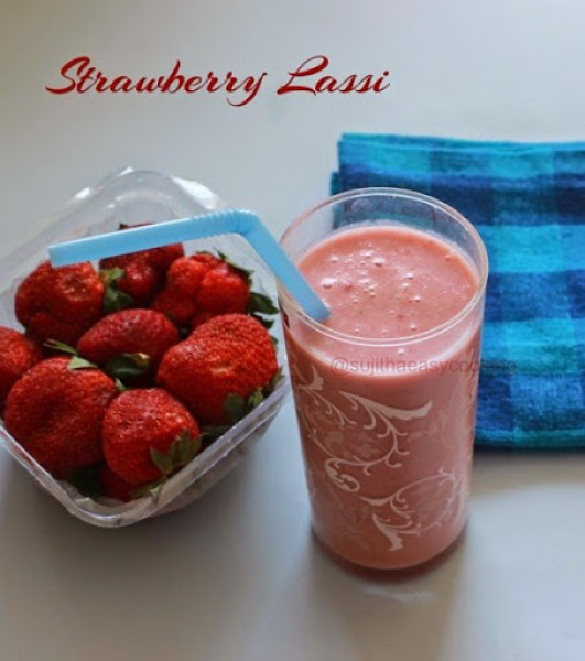 Strawberry Lassi2