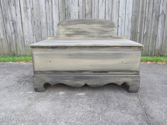 Chest of Drawers into Bench (51)