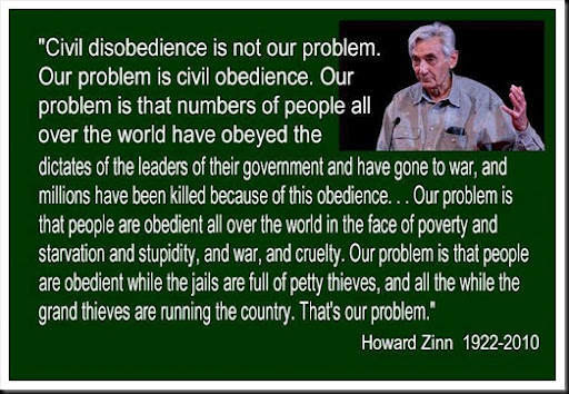 Howard Zinn - Civil Obedience