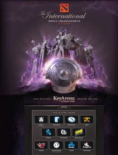 Dota 2: The International Championships 2014