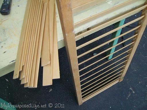 shutter slats magazine racks