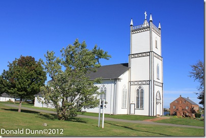 One of many old churches we saw in the Maritime Provinces. This was on Prince Edward Island.
