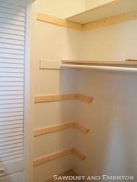 PDF DIY How To Build Wood Shelves In A Closet Download ...