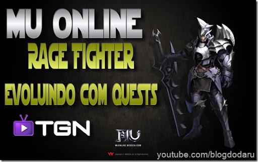 Mu Online - Rage Fighter evoluindo com Quest