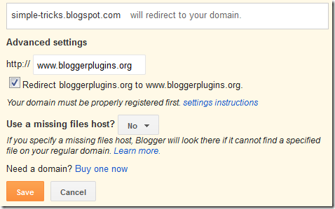 Steps to Setup Custom Domain on Blogger with GoDaddy.com
