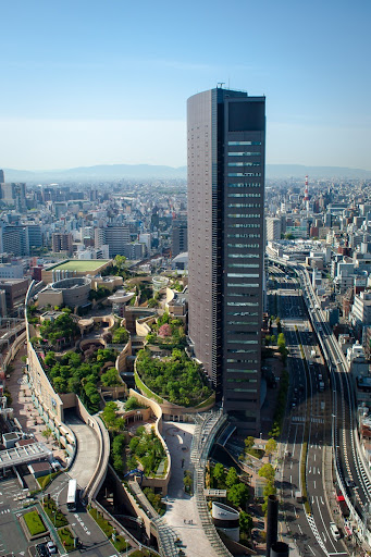 Roof Gardens at Namba Parks, Osaka, Japan   Amusing Planet