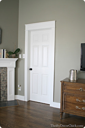 Replacing Door Trim : replacing, Love,, Chunky, Thrifty, Decor, Chick
