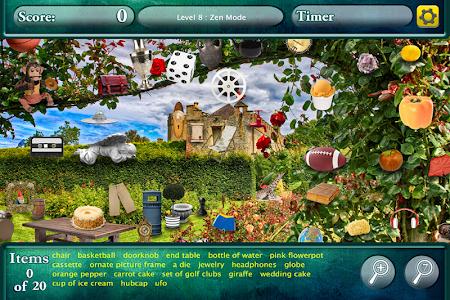 Hidden Objects Secret Gardens! screenshot 1