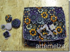 artemelza - bolsa de feltro duplo-28