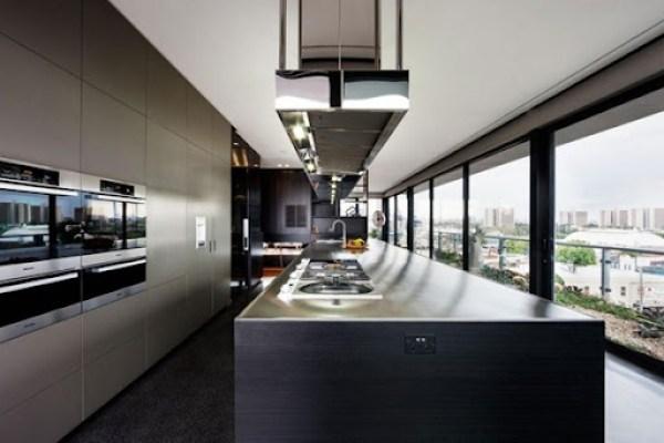 cocina-moderna-en-penthouse