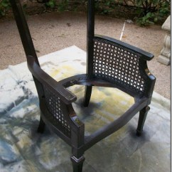 How To Replace Cane Back Chair With Fabric Covers Replacement Removing Some Of The Mystery From Upholstery And Button Tufting After Painting