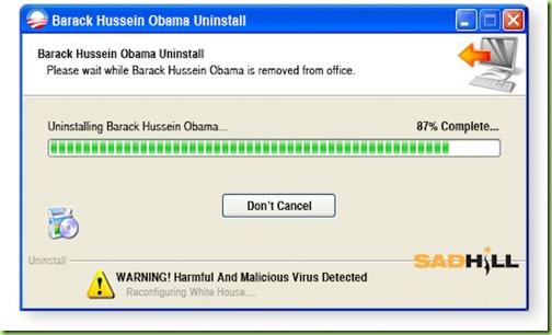 Image result for uninstalling obama
