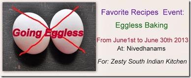 Eggless baking Logo