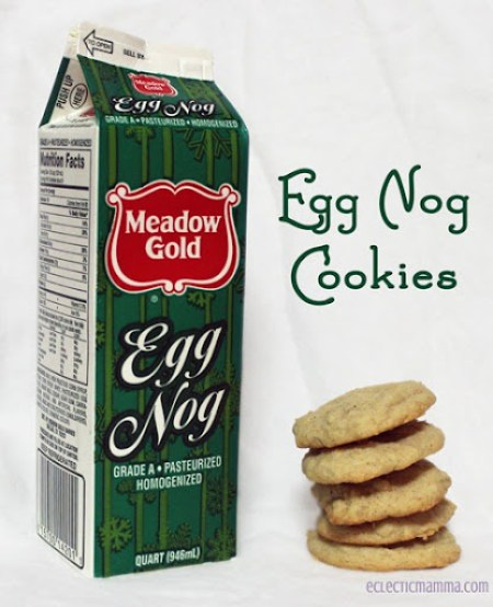 Egg Nog Cookies by Eclectic Momma