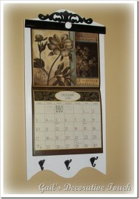 Wooden Wall Calendar Holder Frame | Search Results ...
