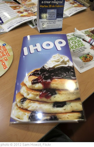 'IHOP Menu' photo (c) 2012, Sam Howzit - license: http://creativecommons.org/licenses/by/2.0/