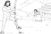 Dibujo de un pueblo indigena - Imagui