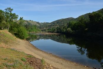 the beautiful American River near Coloma