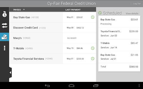 Cy-Fair FCU Mobile Banking screenshot 8